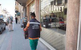 TOPRAKSIZ TARIMIN İLK MAHSULLERİ SOSYAL MARKETLERDE