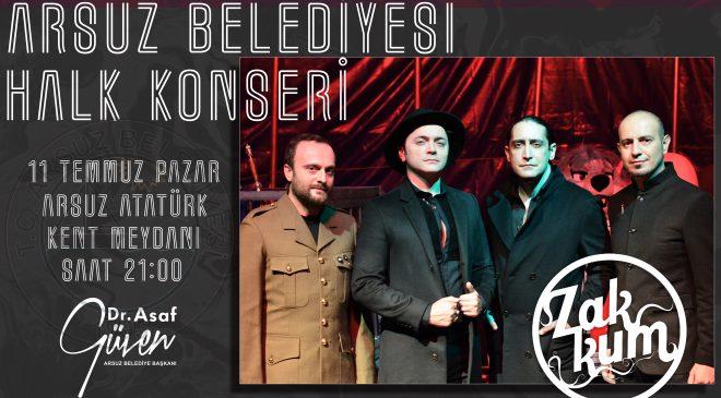 'ZAKKUM' ARSUZ'A GELİYOR