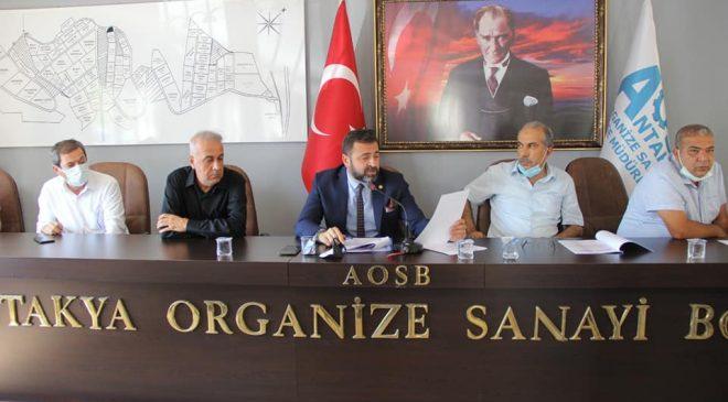 Antakya OSB genel kurulu yapıldı
