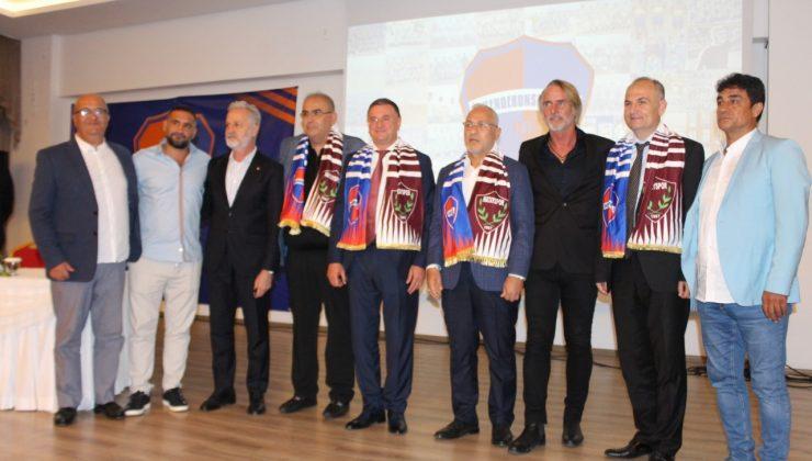 İskenderunspor'da görkemli resmi sözleşme