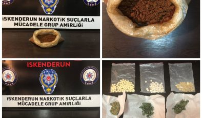 İskenderun'da uyuşturucu operasyonu: 11 tutuklama