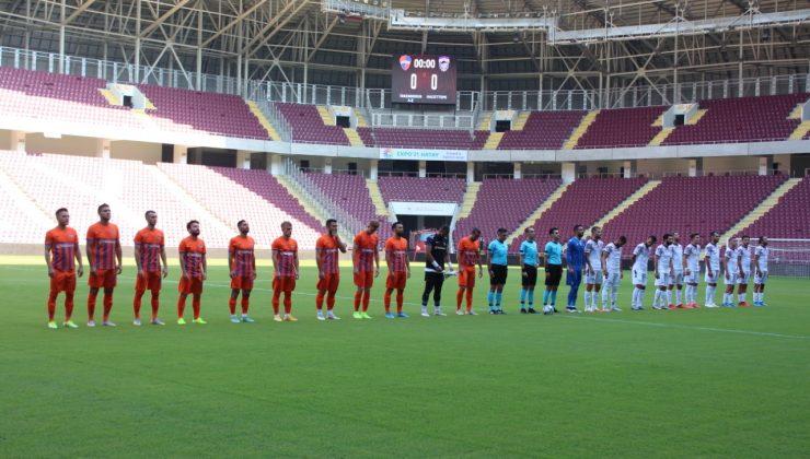 İskenderunspor hezimete uğradı 3-0