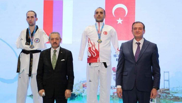 Sabit Köse Avrupa Şampiyonu Oldu