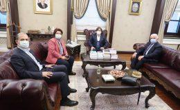 Milletvekillerinden Birkan'a Ziyaret