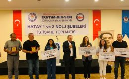 Öğrencilere ödülleri verildi